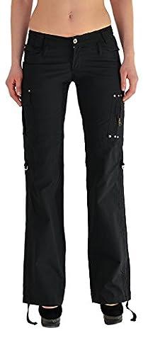 Femmes Pantalon Cargo Baggy Pantalons Femmes Pantalon en Tissu Femmes Pantalons Capri Z43