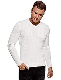 vasta selezione di 191fd f9c27 Amazon.it: maglione bianco - Uomo: Abbigliamento