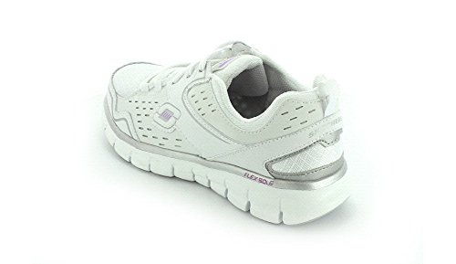 Skechers  Synergy A Lister, basket femme White/Silver