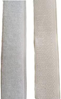 Bande Velcro /à coudre Noir 10 cm au m/ètre