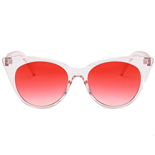 iYmitz Sonnenbrille Mode, Herren Damen Kleinen Rahmen So Strand Herz Sonnenbrille Brille Vintage Retro Stil Brillenträger Brillen Brille(Mehrfarbig,F)