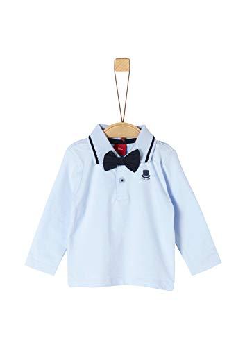 s.Oliver Baby-Jungen 59.911.35.3586 Poloshirt, Blau (Light Blue 5075), (Herstellergröße: 80)