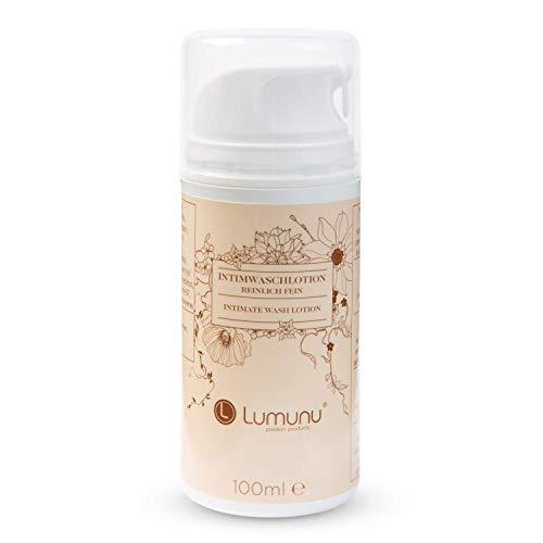 Deluxe Intim-Waschlotion (100ml) Lumunu REINLICH FEIN, natürliche Pflege mit Milchsäure für Frauen und Männer, von Venize