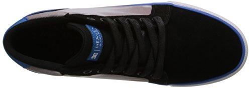 DC Shoes Council Mid Dmg, Baskets mode homme Noir (Black/Blue)