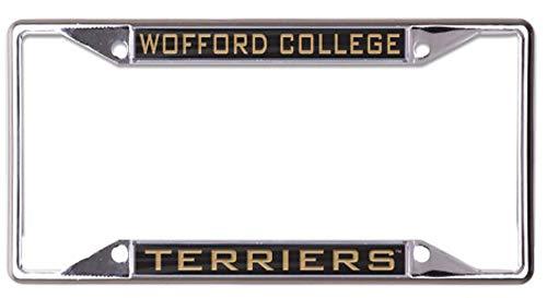 Wincraft Wofford College Terriers Premium Kennzeichenrahmen Metall mit eingelegtem Acryl (Metall-anhängerkupplung Abdeckung)