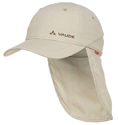 VAUDE Kinder Mütze Sahara Cap III, Offwhite, M, 03136