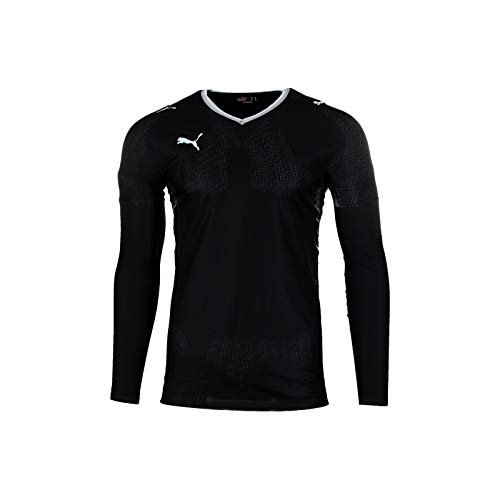 08 Langarm-t-shirt (Puma V1.08 Langarm Shirt Schwarz L)