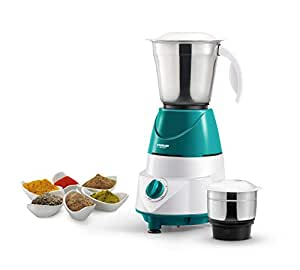 Eveready MG500i LX 500-Watt Mixer Grinder with 2 Jars (Green)