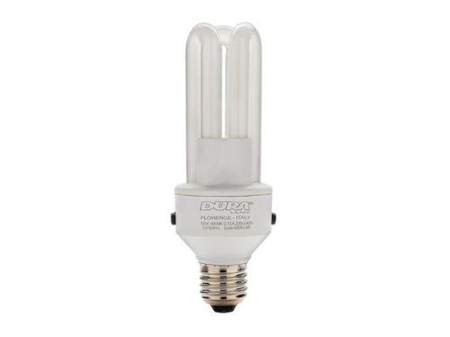 LAMPADA CFL CON DOPPIO SENSORE CREPUSCOLARE E27 15W 800 LUMEN