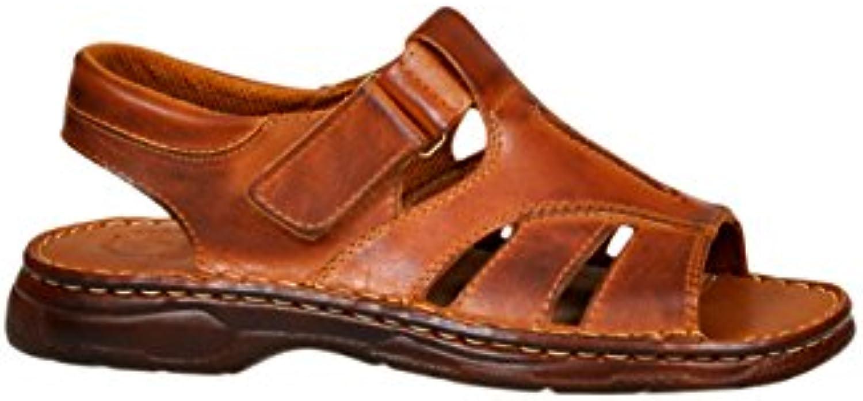 Calzado para hombres Genuino Cuero de Búfalo Sandalias Zapatos Modelo-835