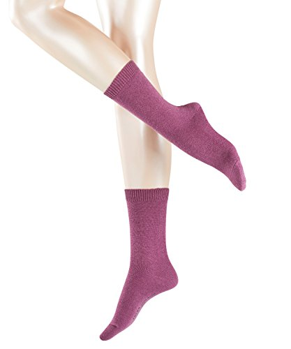 FALKE Damen Socken Cosy Wool, Violett (Heather 8137), 39/42 (Damen-kaschmir-socken)