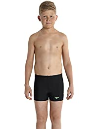 Speedo Jungen Badeanzug Sports Logo Aquashorts mit Einsatz