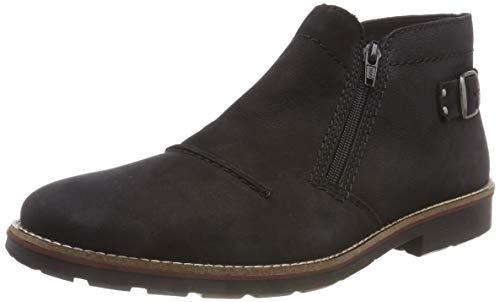 Rieker Herren 35362 Klassische Stiefel, Schwarz (Schwarz 02), 43 EU