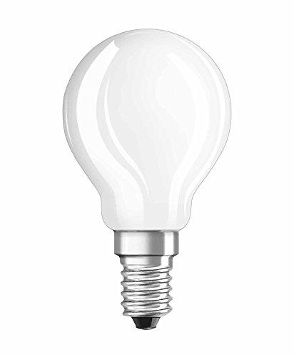Osram LED Star Classic P Lampe, in Tropfenform mit E14-Sockel, nicht dimmbar, Ersetzt 40 Watt, Matt, Warmweiß - 2700 Kelvin, 1er-Pack -