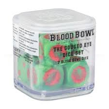 Blood Bowl The Gouged Eye Orc Dice Set