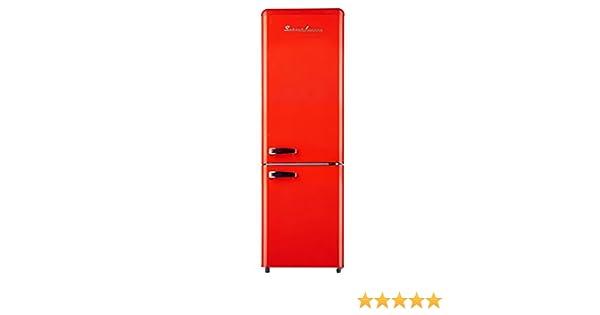 Retro Kühlschrank Schaub Lorenz : Schaub lorenz retro kühl gefrierkombi sl kg250.4 rt fr a in rot