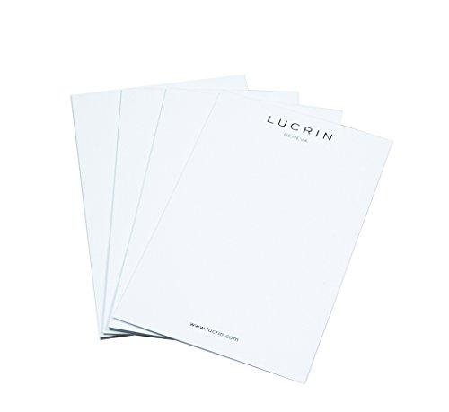 Lucrin - Nachfüllung Kleiner Schreibblock(13.3 x 8.5 cm)