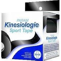 KINESIOLOGIE Sport Tape 5 cmx5 m schwarz 1 St preisvergleich bei billige-tabletten.eu