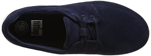 FitFlop Herren Sporty Pop Sneaker Suede Blau (Midnight Navy)