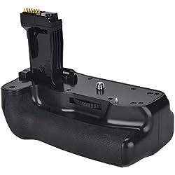 Newmowa Batterie Grip Poignée d'alimentation Remplacement pour Canon 760D/750D/IX8/T6S/T6I Appareil Photo Reflex Numérique