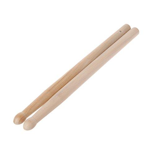 Yxinghai 2 Stück Holz Drumsticks mit glatter