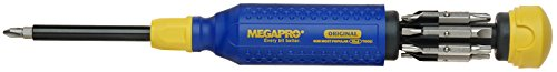 Megapro 15151NAS 15in1Original NAS Driver, Blau/Gelb Combo Driver Bits