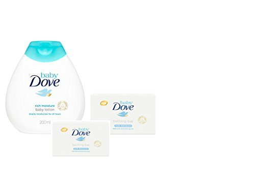Baby Dove Baby Lotion Rich Moisture 200ml & Rich Moisture...