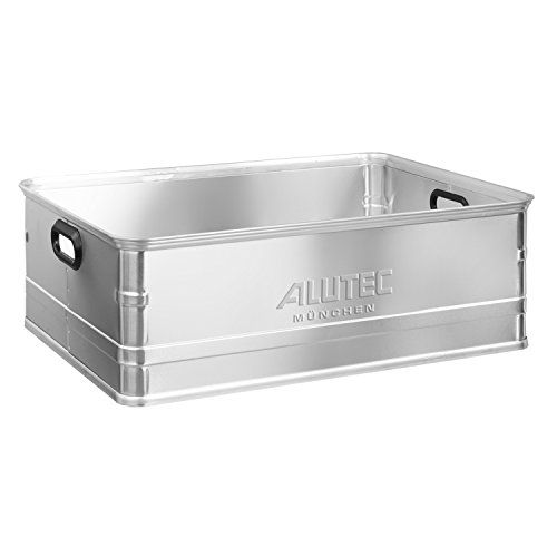 Alutec Alukiste 113 L Storage Case Stapel- Transportkiste 78x59x25cm Lagerbox