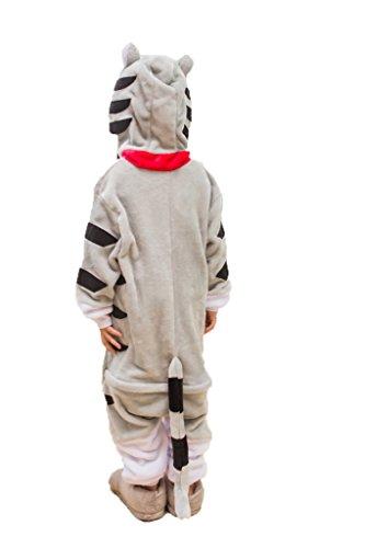 Auspicious beginning Chi Katze Kind Schlafanzüge Tier Cosplay Kostüm Baby-Body Sleepsuit Freizeitkleidung Kigurumi (Baby Kostüm Katze Jungen)
