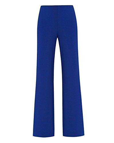 5e63075241f JD Williams Womens Joanna Hope Jersey Palazzo Trouser Ultraviolet