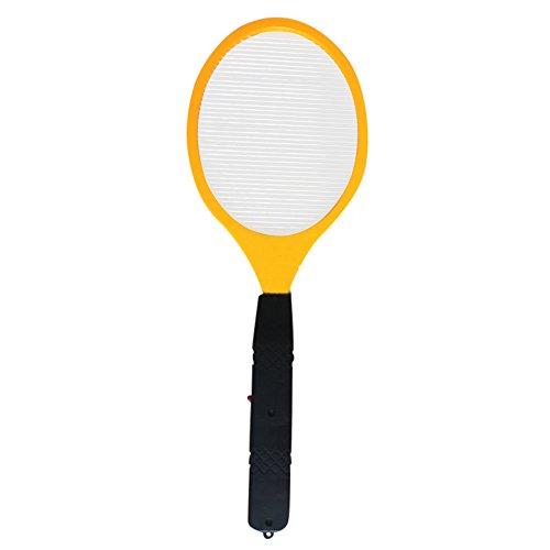 Moskito-Killer Pest Bug Insekt Fliegenklatsche,routinfly Klatsche Große elektrische Bug Fly Moskito für die Innen- und Außenschädlingsbekämpfung (Gelb, 1pc+2 Batterien)