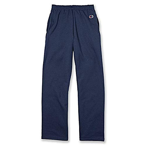 Champion Youth Double Dry Action Fleece Open Bottom Pants - Fleece Open Bottom Pant