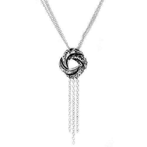 Bond-Girl-Algerische-Liebesknoten-Halskette-Mit-R