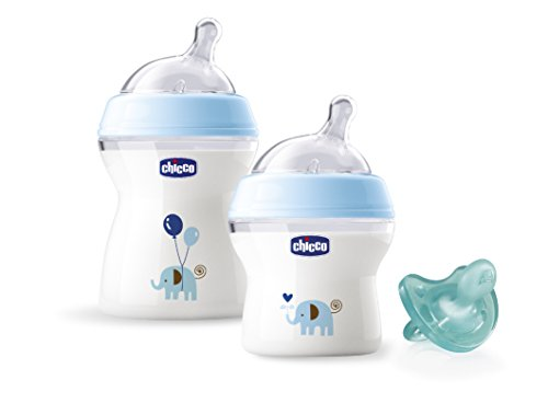 chicco-natural-feeling-gift-set-with-2-bottles-and-physio-soother-blue