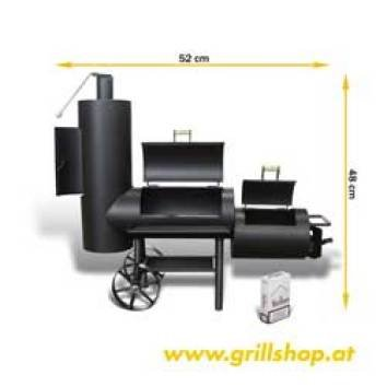 BBQ Smoker mini Chuckwagon by grillshop