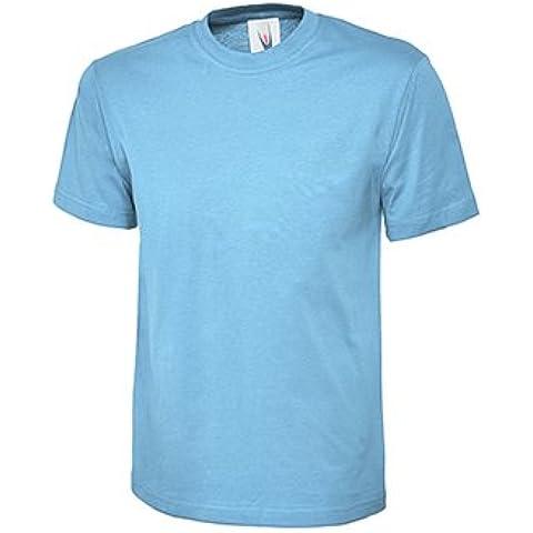 Bianche Uneek T-shirt classica. £5,49, SPEDIZIONE