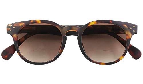 Babsee Sonnenlesebrille Piet   Lesebrille getönt & mit Sonnenschutz   Ideale Lesebrillen Sonnenbrille mit Lesehilfe, Lesesonnenbrille, bifocal Sonnenbrille für Brillenträger   Herren & Damen