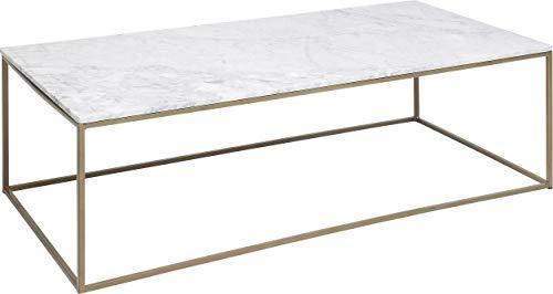 Kare 83973 Couchtisch Key West Marble 120x60cm, Weiß, One Size