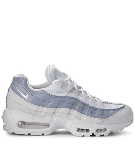 Nike Air Max 95 Essential, Chaussures de Running Compétition Homme, Multicolore (Pure PlatinumWhiteAshen Slate 036), 42 EU