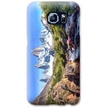 Case carcasa Samsung Galaxy S6 Montagne - cascade pierre B
