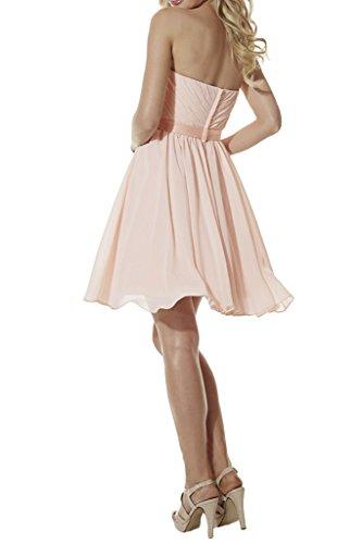 Missdressy - Robe - Trapèze - Femme Rose - Rose clair