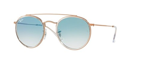 Ray-Ban RB3647N 90683F 51M Copper/Clear Blue Gradient