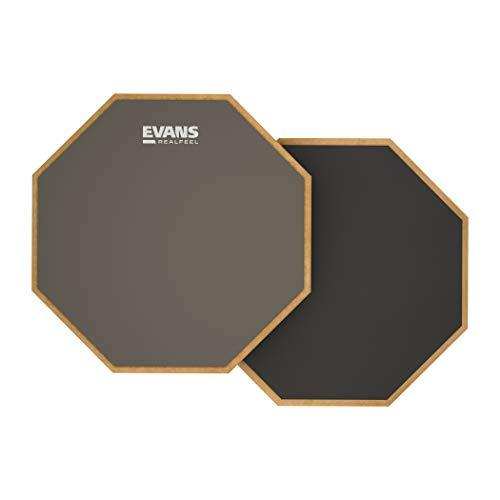 """Evans RF12D - Almohadilla de Práctica Reversible Realfeel de Evans, 12"""" (305 Mm)"""