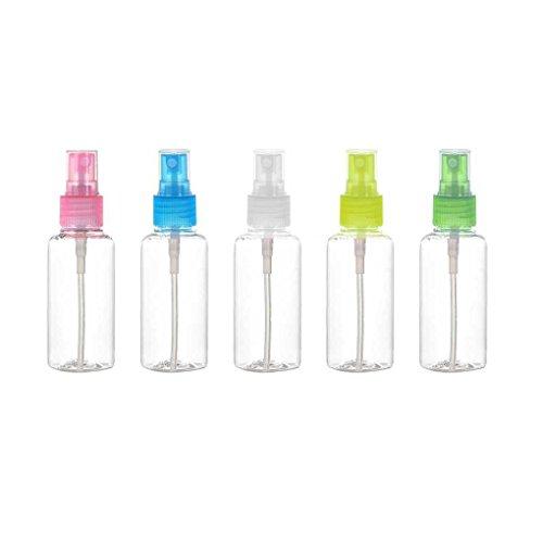 F-blue 30ml Clair Vaporisateur Portable Vide Bouteilles de Parfum Parfum Mist Rechargeables Pompe Atomiseur Accessoires Voyage 5pcs