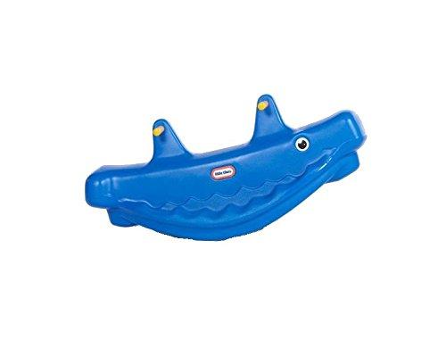 Little Tikes 487910070 - Balancín, diseño de ballena, color azul