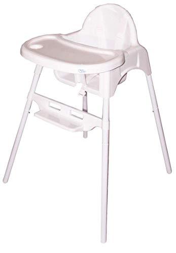 Bebe Style Baby Hochstuhl & Kinderhochstuhl - klassischer 2in1 Babyhochstuhl, Babystuhl, Kinderstuhl & Kindersitz zur einfachen Reinigung