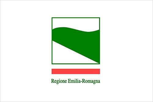 magFlags Drapeau XL+ Émilie-Romagne | Drapeau Paysage | 2.4m² | 120x200cm