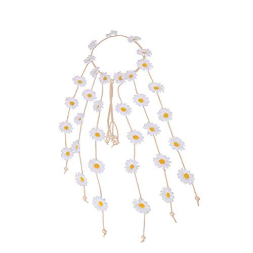 Stirnband Daisy Haarband Floral Crown Headpieces Haar Kranz für Festival Hochzeit ()