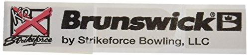 Brunswick 860303001Streifen für Schützen Finger, Unisex Erwachsene, weiß, Einheitsgröße