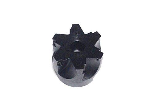"""hhip 90Grad APKT indexable Face Mühle (verschiedene Größen: 5,1cm–12,7cm), 2-1/2"""" Cutting Dia, 3/4"""" Hole, 1"""